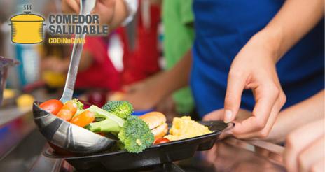 Los D–N de Valencia presentan un distintivo de calidad para comedores escolares saludables