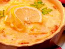 'Tacos de atún encebollados con crema de queso La Vaca que ríe Fórmula Plus'