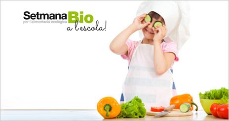 Los centros educativos catalanes celebran la primera 'Semana bio en la escuela'
