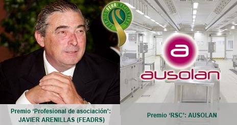 Los galardones de la Federación de Hostelería premian este año a Javier Arenillas y a Ausolan