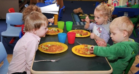 Consideraciones generales para la alimentación de los niños entre los 0 y los 3 años