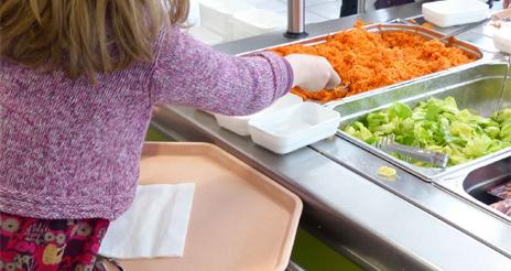 Las familias de Castilla y León otorgan una nota media de 7,9 al servicio de comedor escolar