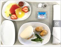 Air Europa ofrece nuevos menús a bordo, aptos para la mayoría de alergias e intolerancias