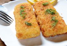 San Marino de merluza con queso, un sandwich de pescado que triunfará entre los pequeños