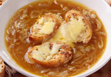 La sopa de cebolla, una especialidad con una función bioactiva, importante para los mayores