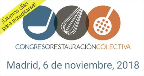 Congreso de Restauración Colectiva, 2018: ¡Últimos días para acreditarse!