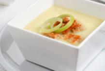 'Crema de marisco con crema de queso', una buena elección para las personas mayores