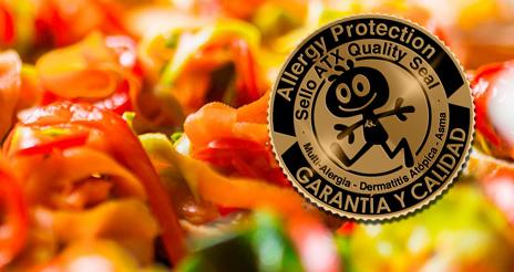 El sello Allergy Protection, un aval que garantiza menús de colectividades libres de alérgenos