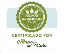 Del Campo al Cole presenta un aval para certificar comedores escolares ecosostenibles