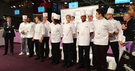 El Sirha de Lyon acoge un año más el concurso de cocineros de colectividades de Francia
