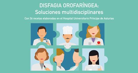 El Hospital Príncipe de Asturias presenta un manual sobre disfagia, que incluye 36 recetas