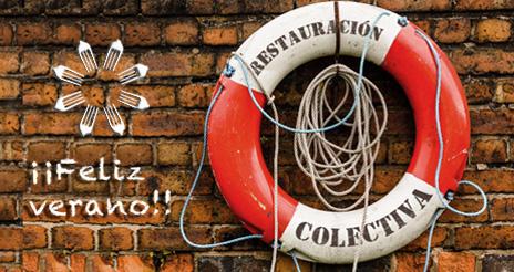 Volvemos en septiembre con toda la información 100% restauración colectiva ¡Feliz verano!