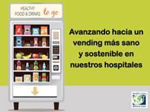 Nueva guía para conseguir un vending más sostenible y saludable en los hospitales