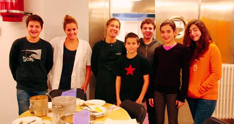 Taller de cata con alumnos, para incluir nuevos platos en el comedor escolar
