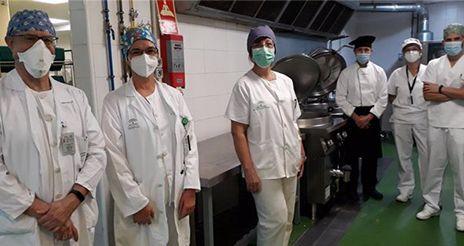 El Hospital de Valme incorpora una dieta alternativa, para pacientes con disfagia leve
