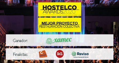 Los 'Hostelco Awards' premian el proyecto Xamec en la subcategoría de colectividades