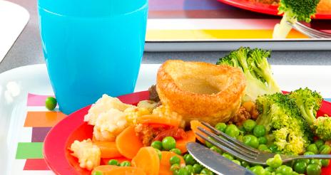 Los comedores escolares de Tolosaldea desperdician 27 toneladas de alimentos anuales