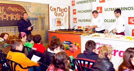 Talleres para que alumnos de Cantabria aprendan a comer saludablemente