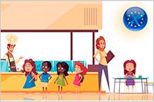 Situación de los niños y niñas celiacos en los comedores escolares de los países europeos