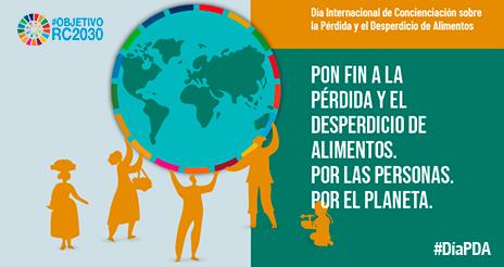 29S: Día internacional para la sensibilización sobre la pérdida y desperdicio de alimentos