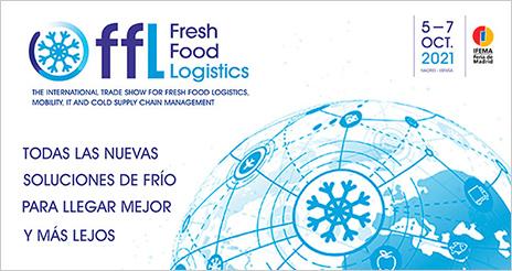 Fresh Food Logistics, un nuevo evento especializado en la cadena de frío alimentaria