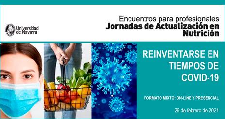 La jornada de actualización en nutrición aborda la adaptación de las colectividades a la Covid-19